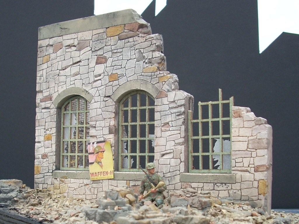 Dioramas plus blog archive stone ruins for Order of building a house